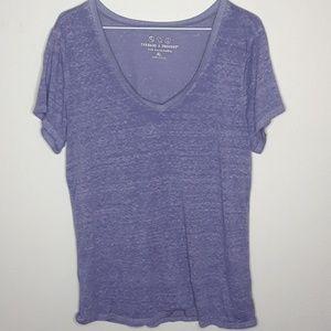 Threads 4 thought  sheer shirt